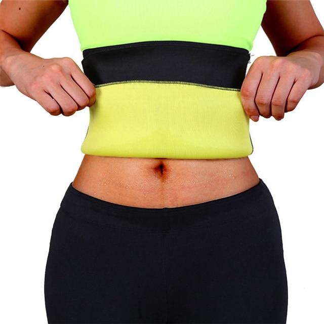 Slimming Sauna Belt For Weight Loss & Fat Burning - Sweat Band Body Shaper For Men Women