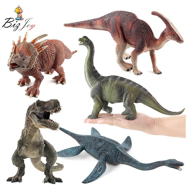 Dinosaur Set Jurassic World Animal Figurines kids toys Pack de 4