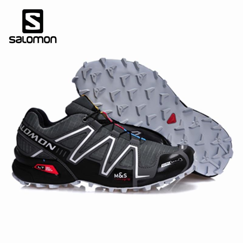 Salomon Speed Cross 3 CS Professional Marathon Breathable Sneakers Zapatillas Deportivas Men Fencing Speedcross 3 Sport Shoes