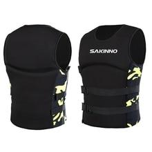 Ski-Vest Kayak Life-Jacket Neoprene Water-Sports Rafting Swimming Fishing-Water Adult