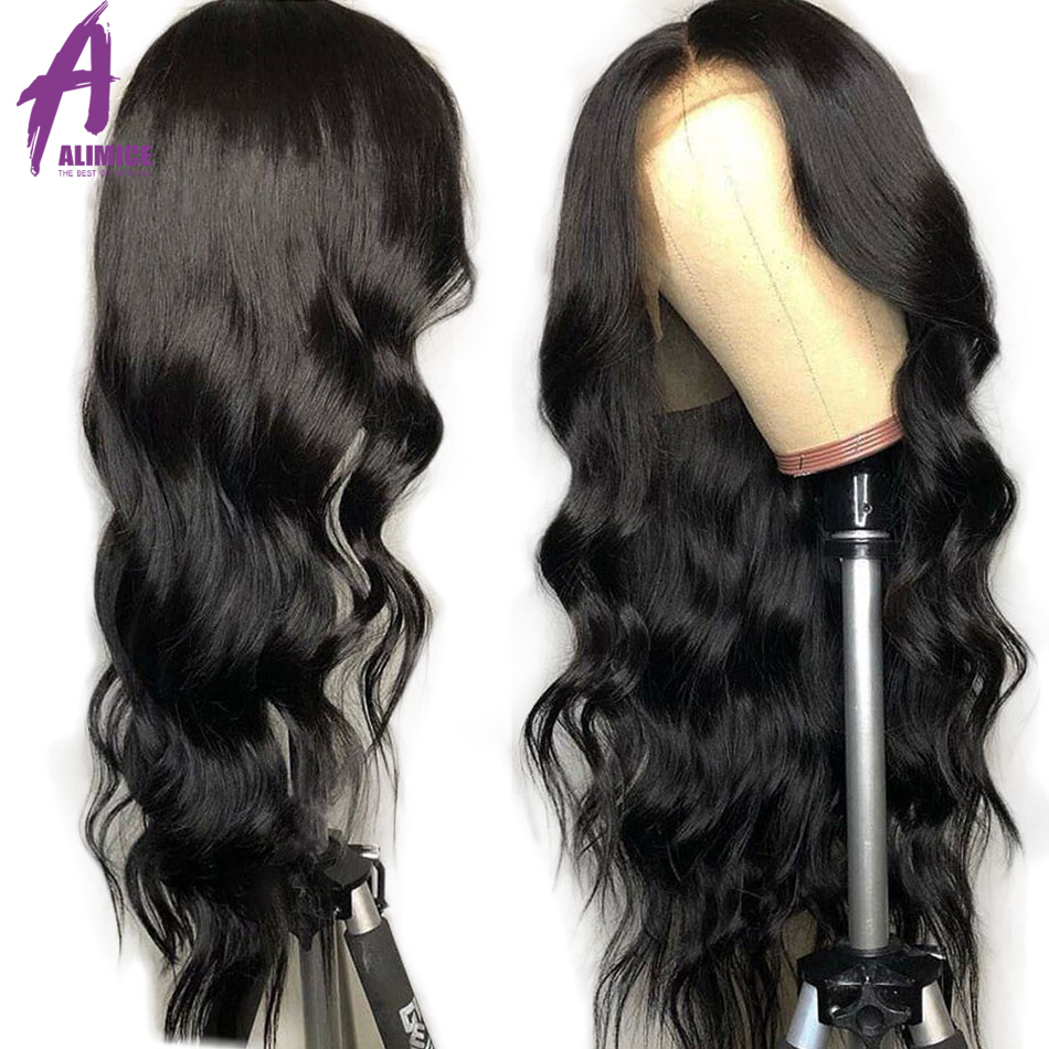 Body Wave Lace Front Human Hair Wigs For Women 13x4 Pre Plucked Peruvian Remy Human Hair Wigs Lace Front Wig With Baby Hair