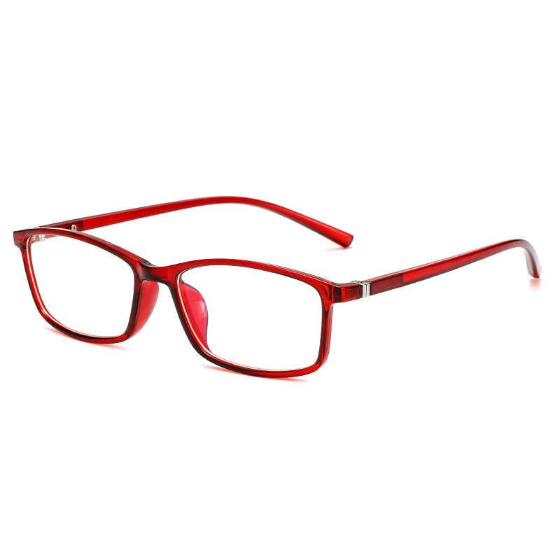 Swokence anti azul ray óculos de leitura sph 0 a + 4.0 mulher homem inquebrável prescrição óculos para presbiopia hyperopia r003