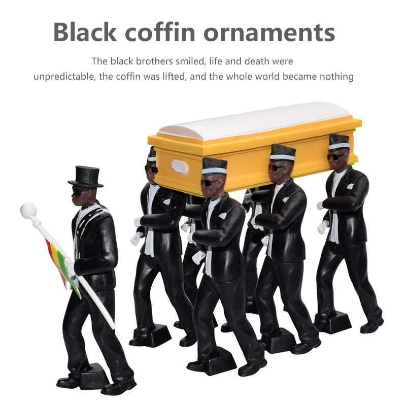 New Dancing Cosplay Coffin Dance Funeral Team Figure Modèle Souvenir Collection