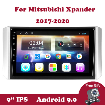 Android 9 Car Multimedia Navigation Stereo Player For Xpander 2017 2018 2019 2020 DVD 2din No 2 din DVD WIFI Car Radio IPS Video image