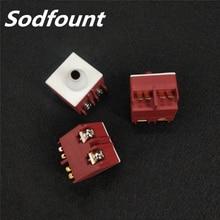 Amoladora angular FA2 5/2W 250V 5A 125VAC/10A interruptor momentáneo DPST sin botón para Bosch GWS6/8 100 TWS6600 para INTERSKOL