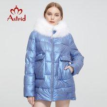 Women's Coat Clothing Thick-Jacket Large-Sizes Winter Astrid Parka Hooded Female Warm