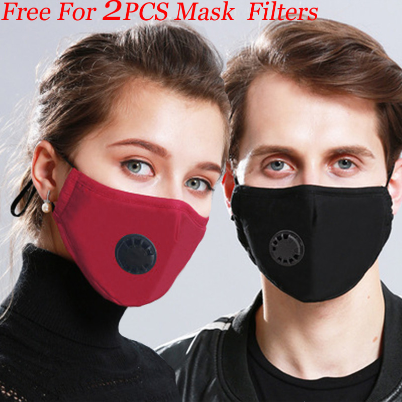 Dust PM2.5 Mouth Mask N95 Cotton Washable Respirator Mouth-muffle Anti Pollution Breathable Face Mask IN STOCK FAST DELIVERY