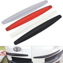 1 Pair Car Bumper Protector Corner Guard Anti-Scratch Strips Sticker Protection Body Moldings Valance Accessories