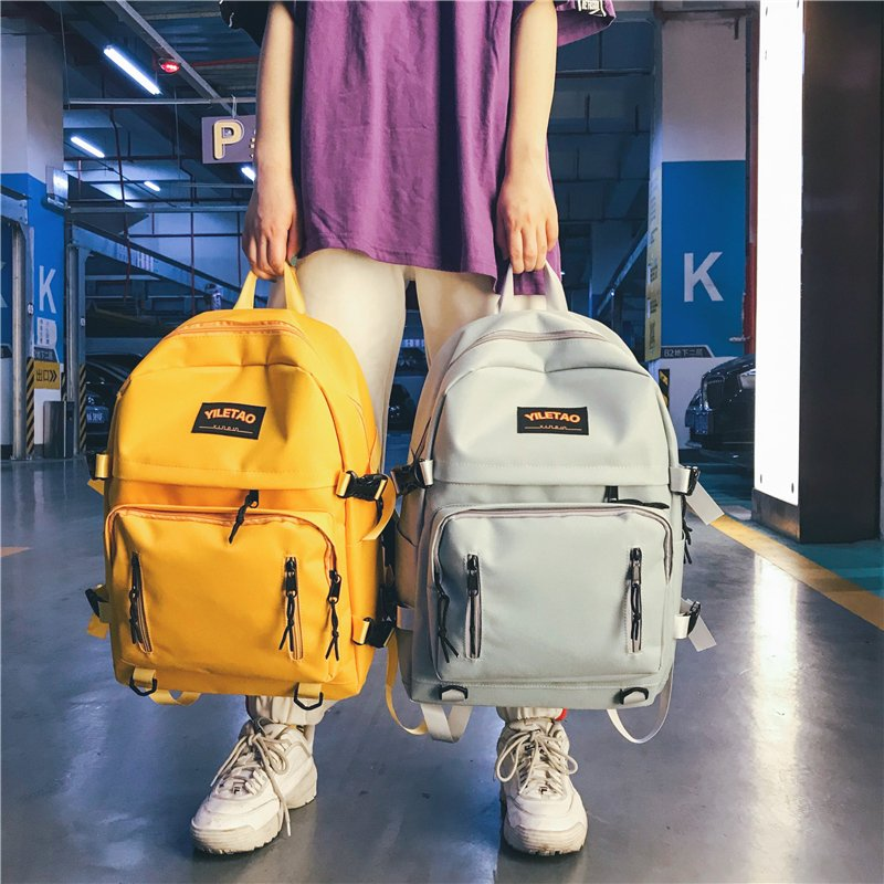 Big Capacity School Bags For Teenage Girls Boys 2019 Casual College School Backpack Men Women Bookbags Teen Campus Bagpack Nylon