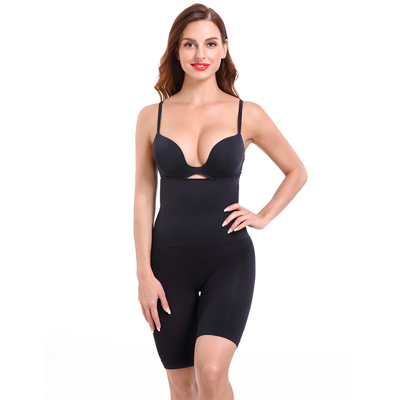Women High Waist Shaping Panties Breathable Body Shaper Slimming Tummy Underwear Control Panties Shapers 2020