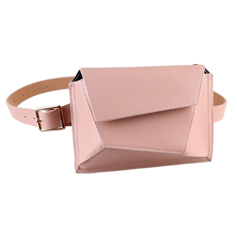 Women Waist Bag Crocodile Pattern Waist Pack Belt Bags Mini Solid Color Coin Purse Fashion Ladies Fanny Pack Belly Pouch  Mujer