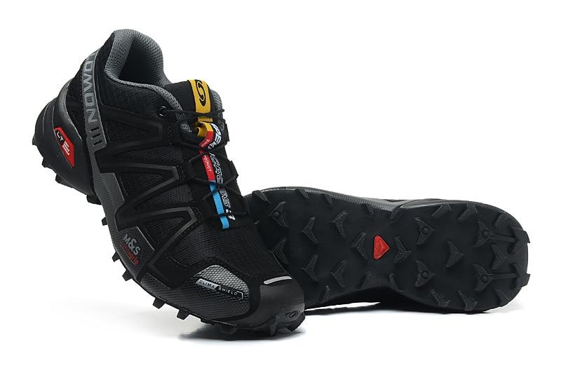 Salomon Speedcross 3 CS deporte al aire libre de los hombres zapatos transpirables Zapatillas Hombre Mujer Hombre esgrima Zapatillas velocidad Cruz 3 EUR 40-46 - 4