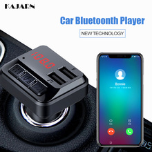 KAJARN FM Transmitter Car MP3 Player Radio FM Transmitter Car Kit Modulator Handsfree Dual USB Charger FM Transmitter Bluetooth 0 50w fm transmitter radio station with fm car sucker antenna kit
