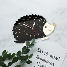 Фото - especially recommend be popular at home fashionable and creative hedgehog clock animal clock bedroom decoration clock and watch david sanders compass and clock