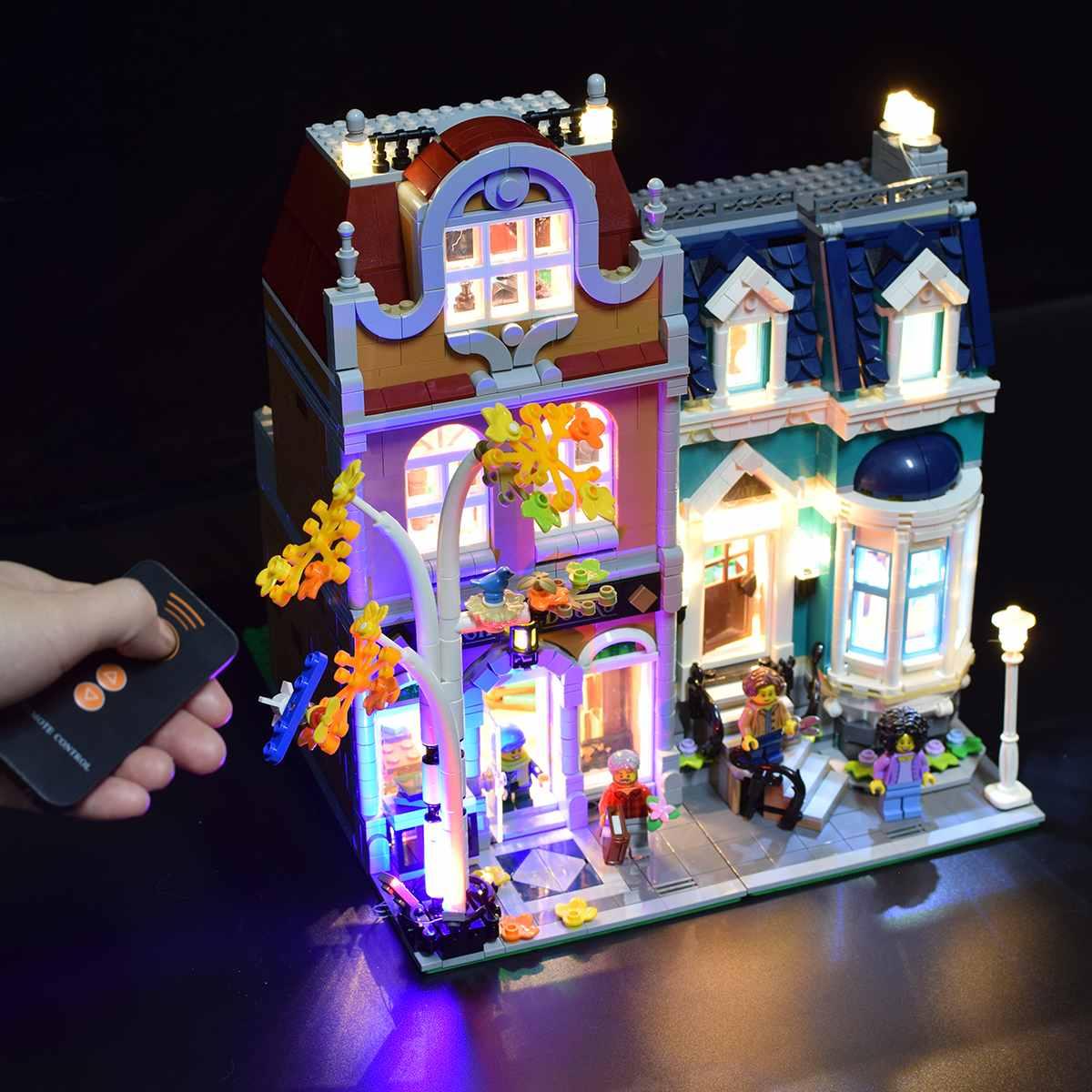 USB LED Light Lighting Kit For LEGO 10270 Creator Modular Bookshop Building