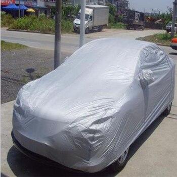 S-XXL universal cubierta completa para coche ropa para coche tela de hielo de nieve parasol UV plegable para coche cubierta de protección al aire libre