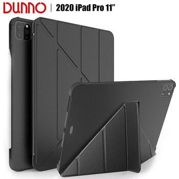 цена на 2020 iPad Pro Case For 2018 iPad Pro 11inch Case With Pencil Holder Cover 2020 iPad Pro 11 2nd Gen Auto Sleep/Wake Smart Case