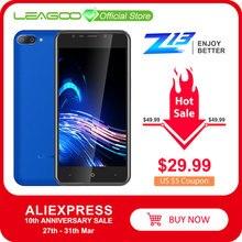 "LEAGOO Z13 teléfono móvil 5,0 ""IPS pantalla 1GB RAM 8GB ROM cámara trasera Dual SIM Dual 2000mAh Android Quad Core 3G Smartphone"