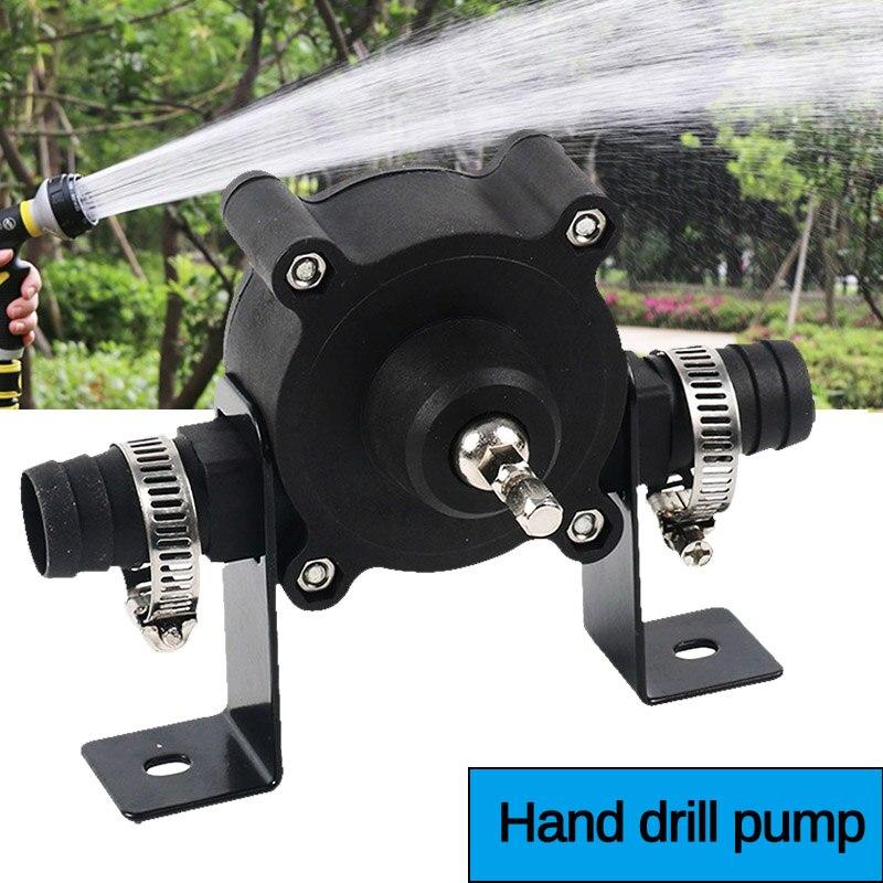 Electric Drill Pump Portable Electric Drill Pump Self Priming Transfer Pumps Oil Fluid Water Pump Cordless Screwdrive Tools