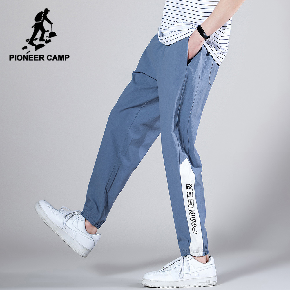 Pioneer Camp Loose Hip Hop Causal Pants Men Spring Autumn Fashion Black Blue Gray Men's Trousers AXX0205108