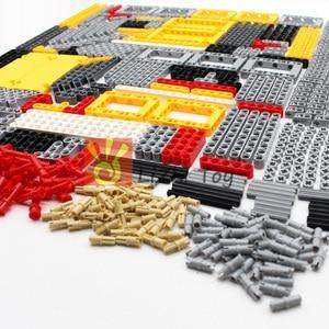 Image 3 - 548PCS Blocchi Technic Parti Liftarm Fascio Croce Asse Connettore Pannello MOC Accessorio Giocattoli Giocattoli Meccanici Auto di Massa Compatibile Legoeds