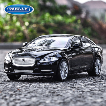 welly 1:24   2010 Jaguar XJ  alloy car model simulation car decoration collection gift toy Die casting model boy toy welly 1 24 jaguar f pace car alloy car model simulation car decoration collection gift toy die casting model boy toy