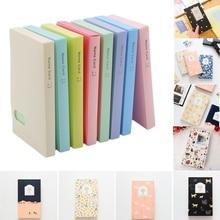 Stickers Decoration Scrapbooking Photo-Albums-Frame Id-Holder 120-Pockets for DIY Solid-Color