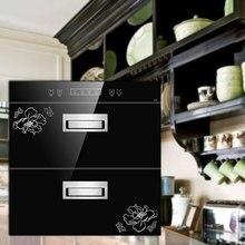 220 В домашний дезинфекционный шкаф Встроенная дезинфекционная посуда озоновый высокотемпературный дезинфекционный шкаф