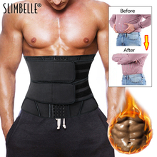 Slimming-Belt Underwear Boned-Waist-Trainer Workout-Sports Corset Support Sweat-Weight-Loss