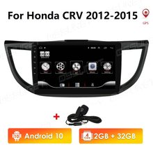 2G + 32G Android 10.0 autoradio multimédia lecteur Audio Navigation GPS 2 Din pour Honda CRV 2012 2013 2014 2015 2016(China)