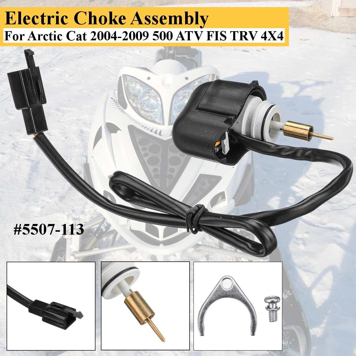 Carburateur automatique starter électrique/soupape d'enrichissement pour arctique Cat 2004-2009 500 ATV FIS TRV 4X4 #5507-113