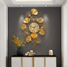 Horloge murale à Quartz De luxe, grand format, Design chinois silencieux, décoration d'intérieur, DB60WC