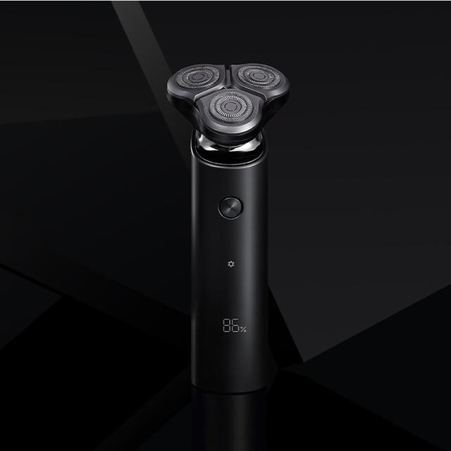 XIAOMI rasoir électrique pour hommes barbe tondeuse rasoir xiaomi rasoir machine à raser original 3 têtes sec humide rasage lavable razor4