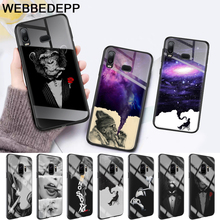 Cigarette Smoking  Protector Glass Case for Samsung S7 Edge S8 S9 S10 Plus A10 A20 A30 A40 A50 A60 A70 Note 8 9 10 стоимость