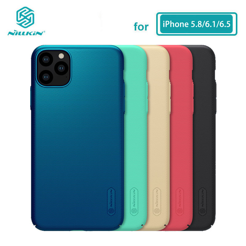 Case For iPhone 11 Pro Max 5.8/6.1/6.5 Nillkin Frosted Shield Matte PC Hard Back Cover For iPhone 11 Case Casing