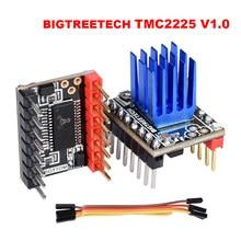 Bigtreetech tmc2225 v1.0 uart stepper motor driver vs tmc2209 tmc2226 tmc2130 stepstick para skr v1.4 turbo 3d peças de impressora