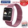Greentiger P68 Smart Watch Sport IP68 Waterproof Fitness Tracker Heart Rate Blood Pressure Oxygen Smart Watch Men VS P80 P70 P90