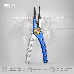 Image 2 - Boms Fishing X01 алюминиевые рыболовные плоскогубцы с катушкой и оболочкой