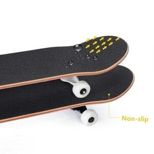 1PC Professional Non-slip Black Skateboard Deck Sandpaper Grip Tape For Skating Board Longboarding 82*21cm Skateboard Accessory