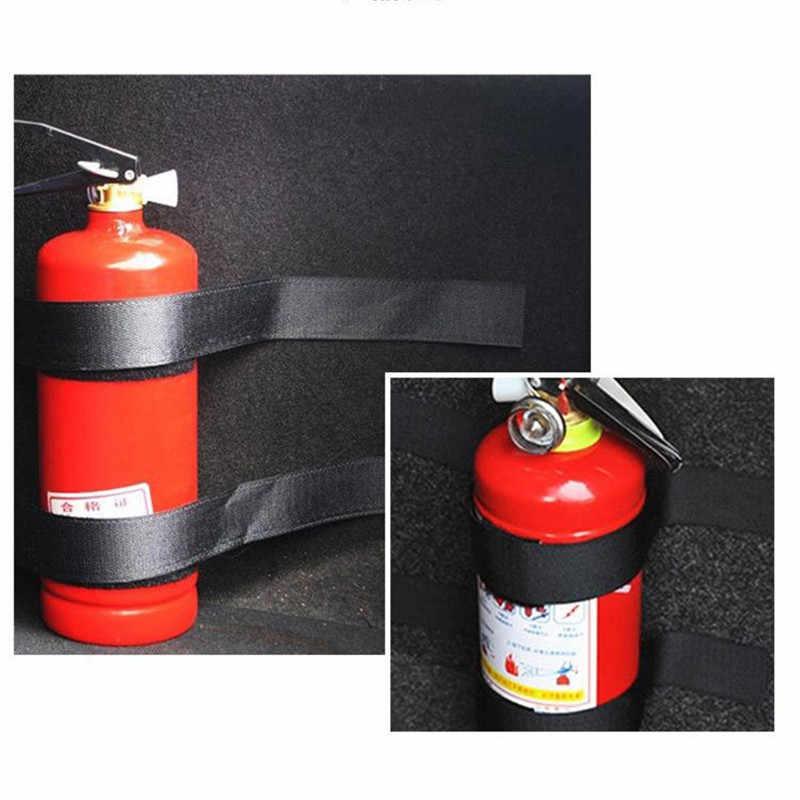 Buah/Set Mobil Nilon Pemadam Api Stickertape Sabuk Bersih Perban Bagasi Mobil Bagasi Tas Magic Tape Hook dan Loop tali Stiker
