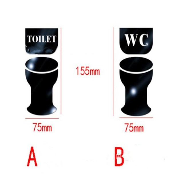 Toilet Door Stickers 10