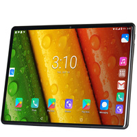 Android 9.0 New Original 10.1 inch Tablet Pc 8G+128G Ten Core 3G 4G LTE Phone Call Google GPS WiFi FM Bluetooth 10 inch Tablets