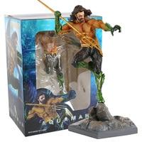 DC Justice League Aquaman Statue PVC Collectible Action Figure Toy