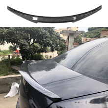 цена на for Mazda 6 spoiler 2009 2010 2011 2012 2013 2014 2015 year glossy carbon fiber/FRP rear wing M4 style spoiler accessories