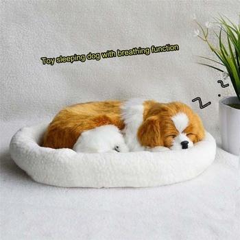 цена на 18 patterns Electronic Pets Simulation animal Simulation dog breathing dog lovely dog Real Hair birthday gift animal model