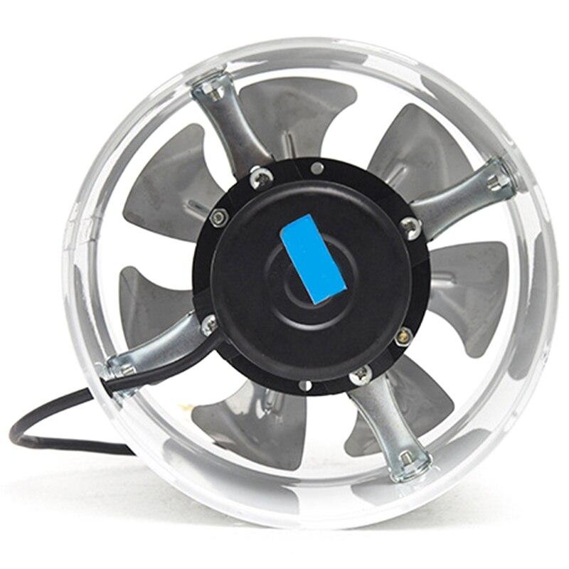 8 Inch Duct Fan Air Ventilator Metal Pipe Ventilation 200V Exhaust Fan Mini Extractor Bathroom Fan Wall Fan