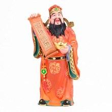 цена MOZART God Of Wealth Buddha Statue Wealth Pure Copper Wealth Treasure God Of Wealth God Of Wealth Home, Height about 39cm онлайн в 2017 году