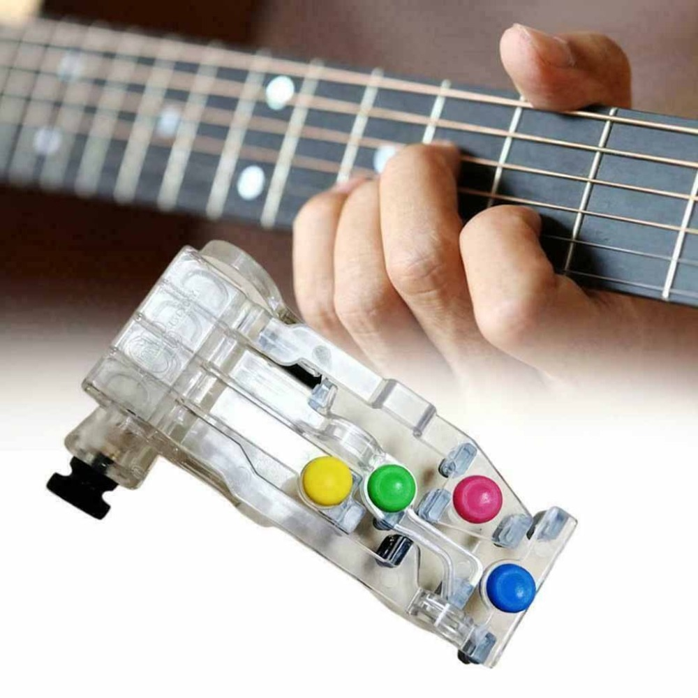Chord novice lazy artifact pain-proof fingertips finger-assisted guitar assistant guitar learning system teaching 20D18 (5)