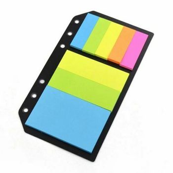 A5/A6/B5 Personal Sticky Notes Assorted Diary Insert Refill Organiser Sticker Stationery Office school supplies a5 a6 a7 dot planner diary insert refill schedule organiser 45 sheets note paper stationery office school supplies
