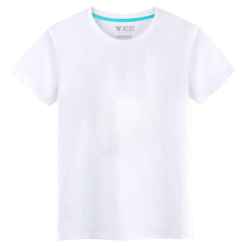 Summer retro minimalist fresh short-sleeved men's trend wild t-shirt